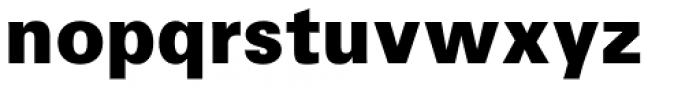 Iwata Gothic Old Pro Heavy Font LOWERCASE