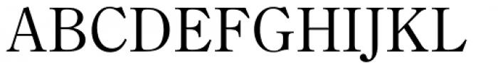 Iwata News Mincho Pro Thin Font UPPERCASE