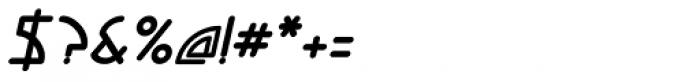 Ixtan Bold Italic Font OTHER CHARS