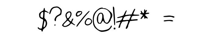 IYSForeverandEver Font OTHER CHARS