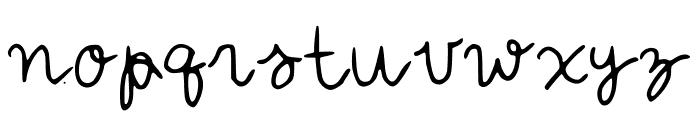 IYSForeverandEver Font LOWERCASE