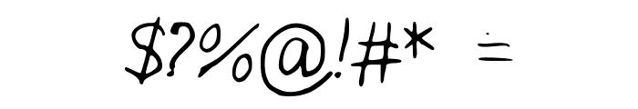 IYSJokeWeMade Font OTHER CHARS