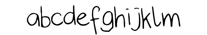 IYSJokeWeMade Font LOWERCASE