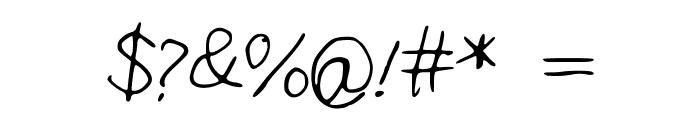 IYSNobodysPerfect Font OTHER CHARS