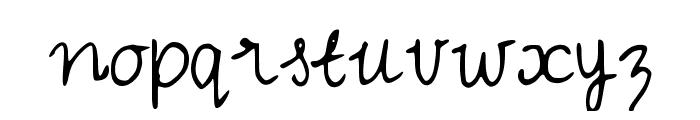 IYSVintageDresses Font LOWERCASE