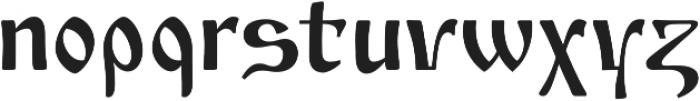 Izhitsa Regular otf (400) Font LOWERCASE