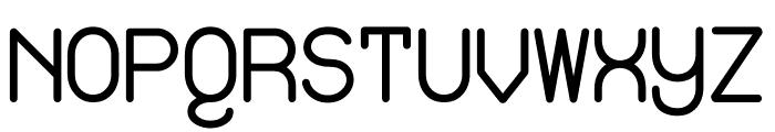 Izayoi Monospaced Font UPPERCASE