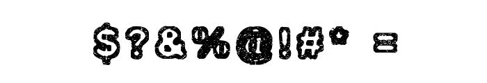 Izolation Font OTHER CHARS