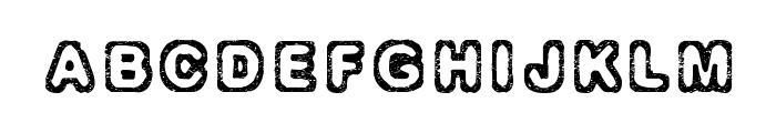 Izolation Font UPPERCASE