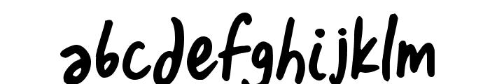 Izza Font LOWERCASE