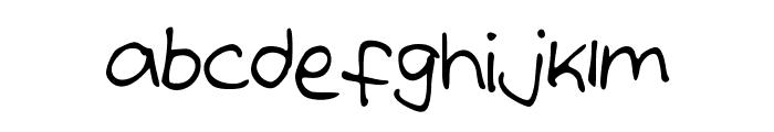 IzzysHandwriting Font LOWERCASE