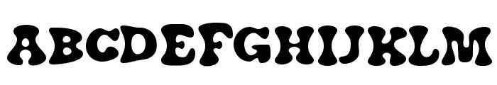 J. Airplane swash Font UPPERCASE