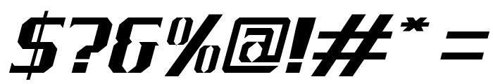 J-LOG Cameron Edge Serif Small Caps Italic Font OTHER CHARS