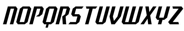 J-LOG Razor Edge Sans Small Caps Italic Font UPPERCASE