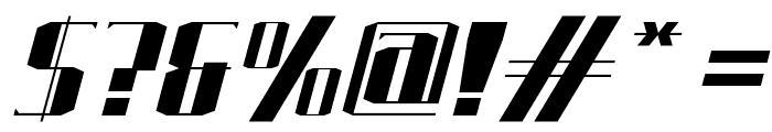 J-LOG Starkwood Serif Small Caps Italic Font OTHER CHARS