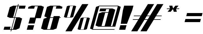 J-LOG Starkwood Slab Serif Normal Italic Font OTHER CHARS