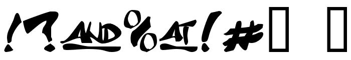 J Random C Font OTHER CHARS
