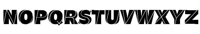 J.M. Nexus Grotesque Font UPPERCASE