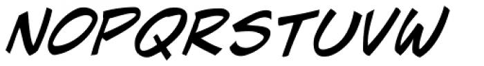J Scott Campbell Italic Font UPPERCASE