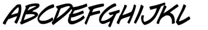 J Scott Campbell Italic Font LOWERCASE