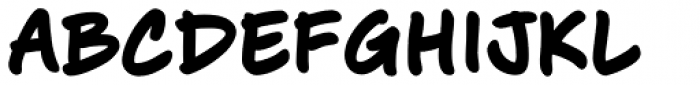 J. Scott Campbell Lower Bold Font UPPERCASE