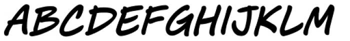 J. Scott Campbell Lower Italic Font UPPERCASE