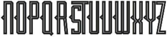 JACKLAND otf (400) Font UPPERCASE
