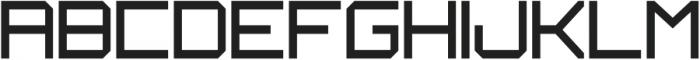 JAVELINE UPPERCASE otf (400) Font LOWERCASE