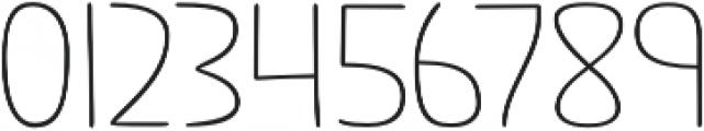 Jabana Alt Extended Thin otf (100) Font OTHER CHARS