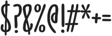 Jabana Alt otf (700) Font OTHER CHARS