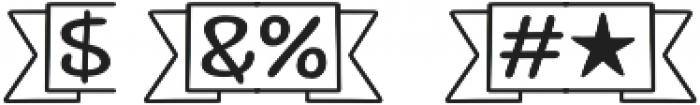 Jabana Extras Divider otf (400) Font OTHER CHARS