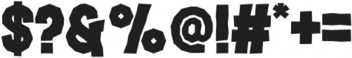 Jacbos Regular otf (400) Font OTHER CHARS