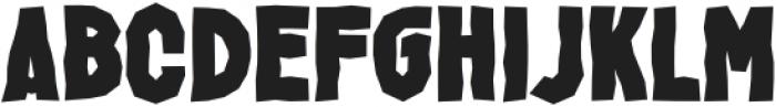 Jacbos Regular otf (400) Font LOWERCASE