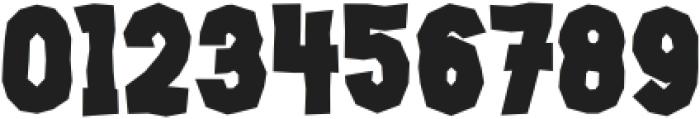 Jacbos Regular ttf (400) Font OTHER CHARS