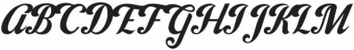 Jacinda otf (400) Font UPPERCASE