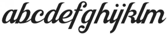 Jacinda otf (400) Font LOWERCASE