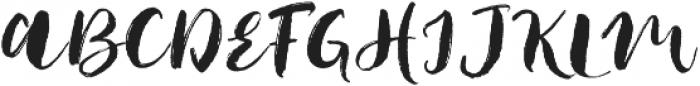 Jack Frost V.2 otf (400) Font UPPERCASE