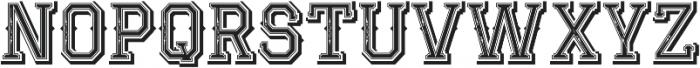 JackRunner otf (400) Font UPPERCASE