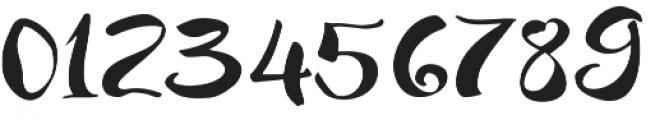 JackSway Regular otf (400) Font OTHER CHARS