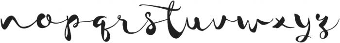 JackSway ttf (400) Font LOWERCASE