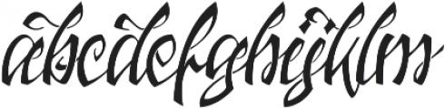 Jacked Eleven ttf (400) Font LOWERCASE
