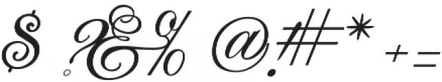 JackieOROB otf (400) Font OTHER CHARS
