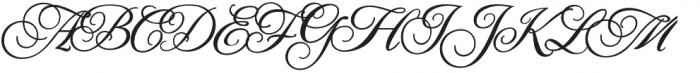 JackieOROB otf (400) Font UPPERCASE