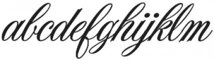 JackieOROB otf (400) Font LOWERCASE