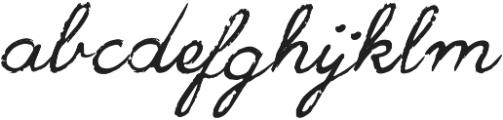 Jackpot Script Italic Medium ttf (500) Font LOWERCASE