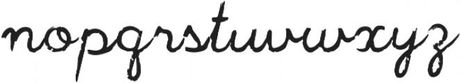 Jackpot Script Regular ttf (400) Font LOWERCASE