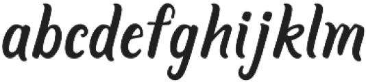 Jackson Harbor otf (400) Font LOWERCASE