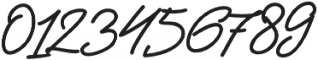 Jackson Script Bold otf (700) Font OTHER CHARS