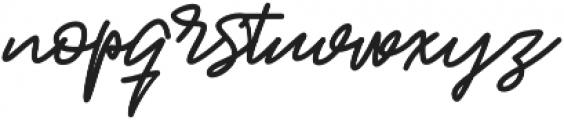 Jackson Script Bold otf (700) Font LOWERCASE