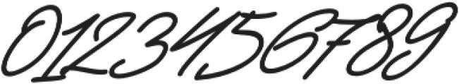 Jackson Script Slant Bold otf (700) Font OTHER CHARS